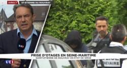 Prêtre égorgé à Saint-Étienne-du-Rouvray : deux perquisitions en cours, un individu interpellé