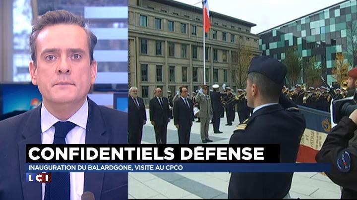 Hexagone balard le nouveau minist re de la d fense inaugur par hollande lci - Balard ministere de la defense ...