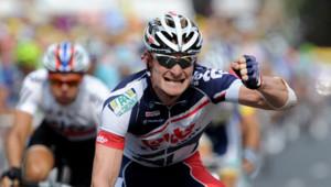 Andre Greipel, vainqueur de la 13e étape du Tour de France, le 14 juillet 2012.