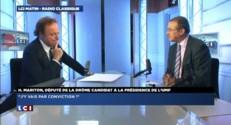 """Hervé Mariton candidat à la présidence de l'UMP : """"J'y vais par conviction !"""""""