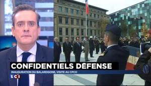 Hexagone-Balard : le nouveau ministère de la Défense inauguré par Hollande