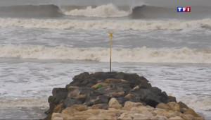 Le 13 heures du 17 mars 2015 : Grande marée, grandes inquiétudes - 1465.88