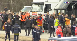 Le 20 heures du 26 mars 2015 : Crash dans les Alpes : recueillement et mobilisation des familles - 900.955