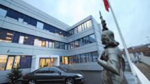 Le siège du Front National à Nanterre