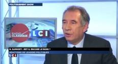 """Pour Bayrou, Sarkozy """"a cédé à la salle"""""""