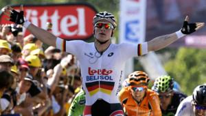 L'Allemand Greipel remporte la 6ème étape au sprint.