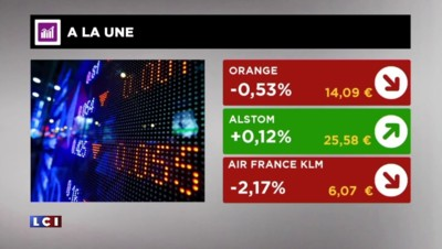 La Bourse de Paris du vendredi 3 juillet