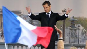 Nicolas Sarkozy à la Concorde