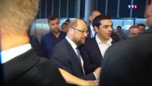 Le 20 heures du 8 juillet 2015 : A Strasbourg, Alexis Tsipras s'est exprimé devant le Parlement européen - 188