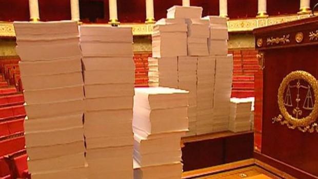 Près de 140.000 amendements ont été déposés sur ce texte. TF1/LCI