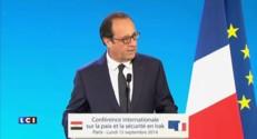 Irak : le discours intégral de François Hollande à la Conférence de Paris
