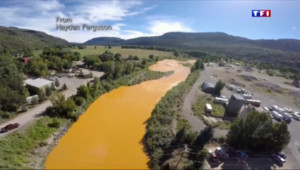 Le 13 heures du 11 août 2015 : Colorado : une rivière polluée, complètement jaune - 458