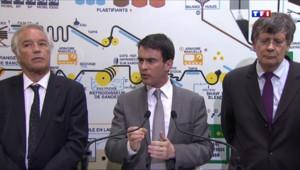 Le 20 heures du 24 avril 2014 : Valls annonce un geste pour les retrait�et les fonctionnaires - 630.7866358642578