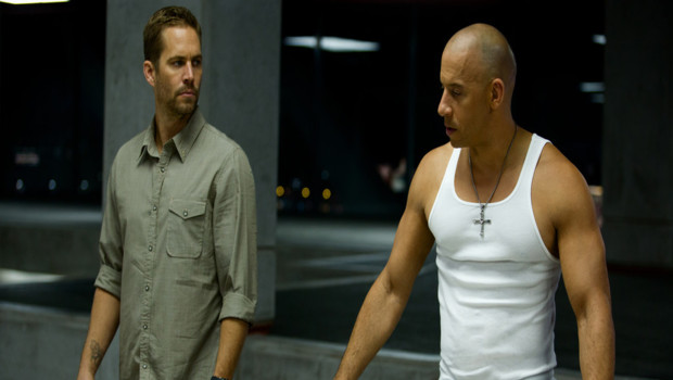 Paul Walker et Vin Diesel dans le film Fast and Furious 6 de Justin Lin