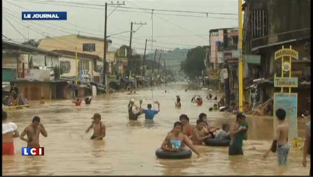 VIDEO : La mousson fait 2 millions de sinistrés à Manille