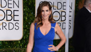 Cindy Crawford lors des Golden Globes le 11 janvier 2015 à Los Angeles