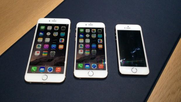 L'iPhone 6 Plus, l'Iphone 6 et l'iPhone 5s