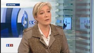 """M. Le Pen : """"j'ai 340 promesses et donc je suis inquiète"""""""
