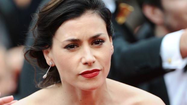 Olivia Ruiz au Palais des Festivals pour la projection de Foxcatcher lors du Festival de Cannes le 19 mai 2014.