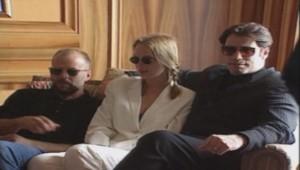 Bruce Willis, Uma Thurman et John Travolta.