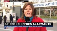 Grippe : Pour Manuel Valls, le gouvernement n'a pas sous-estimé l'ampleur de l'épidémie