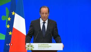 Hollande annonce la fermeture de Fessenheim d'ici fin 2016