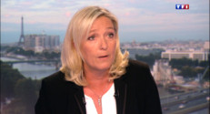 Le 20 heures du 1 septembre 2014 : Marine Le Pen invit�du 20h - 1051.154