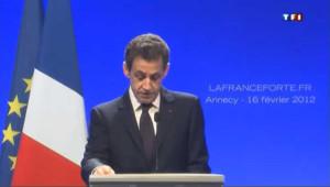 Sarkozy enfile ses habits de candidat à Annecy