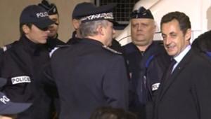 Sarkozy policiers