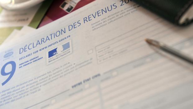 Une déclaration de revenus/Image d'archives