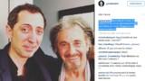 Gad Elmaleh a un nouveau fan : c'est Al Pacino !