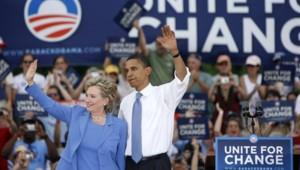 barack obama hillary clinton etats-unis