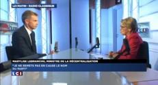"""""""L'attachement au mot socialiste est un bel attachement"""" pour Lebranchu"""