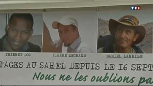 Le 13 heures du 22 juin 2013 : Une journ�de mobilisation pour les otages du Sahel - 604