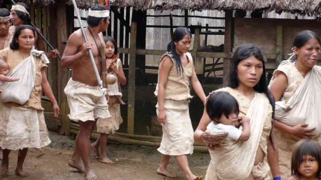Tribu des zaparas amazonie equateur (7)