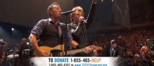 Concert historique à New York pour les sinistrés de Sandy