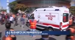Explosions à Ankara : une Française raconte