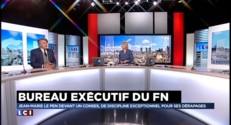 """FN : Gilbert Collard est """"pour une exclusion verbale """" de Jean-Marie Le Pen"""