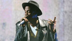 Jay-Z lors d'un concert du On the Run Tour dns le New Jersey en juillet 2014