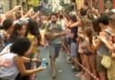 Madrid : le 400 mètres en talons, course de haute voltige pour la Gay Pride