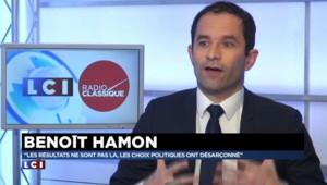 """""""Nous pesions au gouvernement quand nous y étions"""", selon Benoît Hamon"""