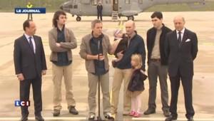 Syrie : l'émotion des retrouvailles pour les ex-otages