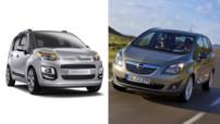 Citroen C3 Picasso Opel Meriva