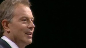 LCI-TF1 Tony Blair lors de son dernier congrès en tant que patron des Travaillistes, le 26 septembre 2006
