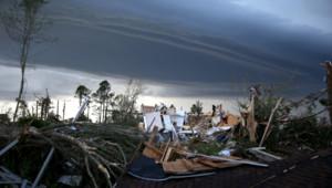 Aux Etats-Unis, les tornades meurtrières d'avril 2014 ont laissé derrière elles des paysages de désolation