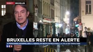 Bruxelles : la traque continue