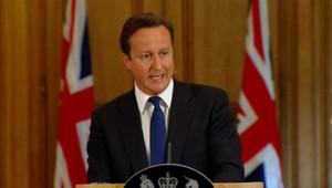 David Cameron, le 8 juillet 2011