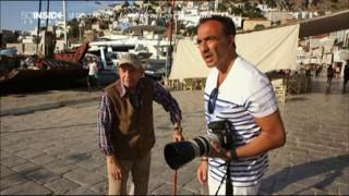 En Grèce avec Nikos Aliagas