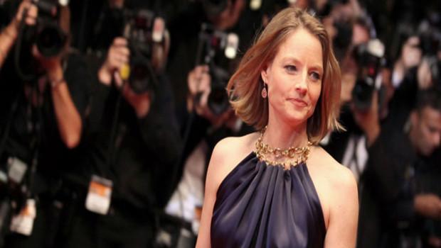Jodie Foster Festival de Cannes 2011 montée des marches Melancholia