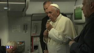 """Le pape François voit """"un changement avec le nouveau gouvernement grec"""""""